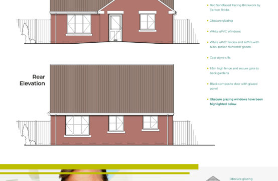 Plot 1, 3 Bed Detached Bungalow
