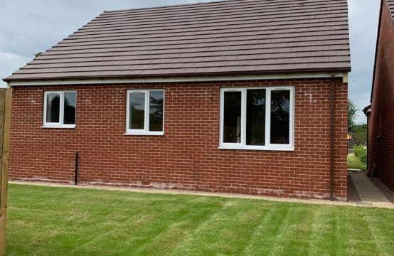Plot 2, 3 Bed Detached Bungalow SOLD!