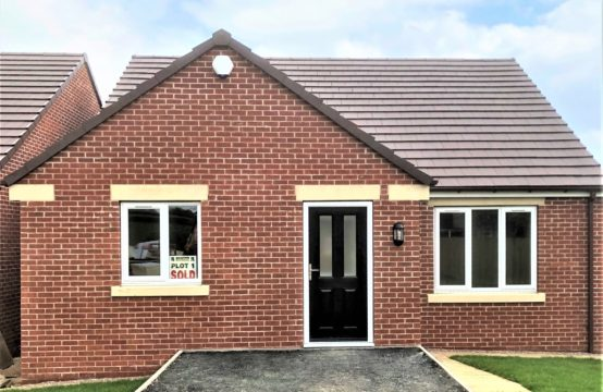 Plot 1, 3 Bed Detached Bungalow – SOLD!