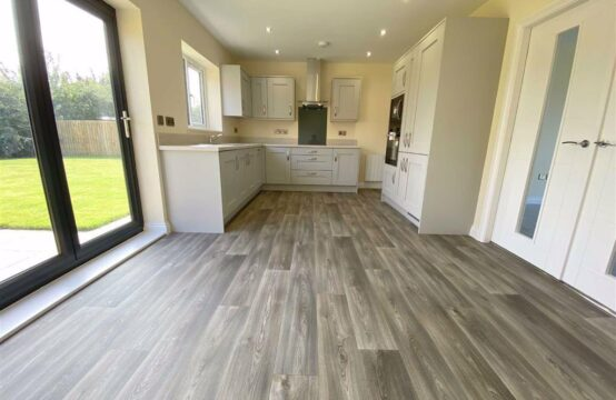 Plot 2, Harvest Square, Rampton. New build 3 bed bungalow with en-suite, integrated kitchen appliances and flooring thoughout