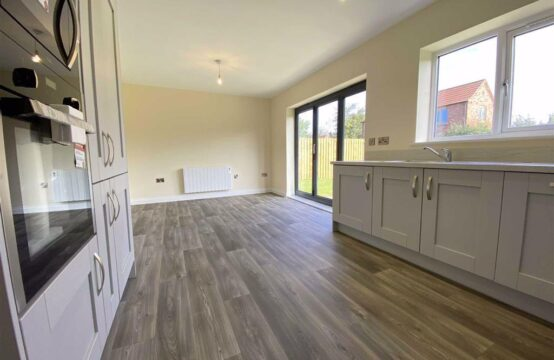 SOLD! Plot 6, Harvest Square, Rampton.  New build 3 bed bungalow with en-suite, integrated kitchen appliances and flooring throughout