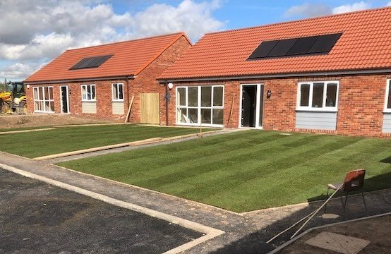 Plot 1, Harvest Square, Rampton. New build 3 bed bungalow with en-suite, integrated kitchen appliances and flooring throughout