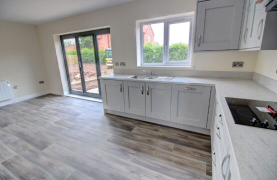 Plot 5, SSTC Harvest Square, Rampton.  New build 3 bed bungalow with en-suite, integrated kitchen appliances and flooring throughout