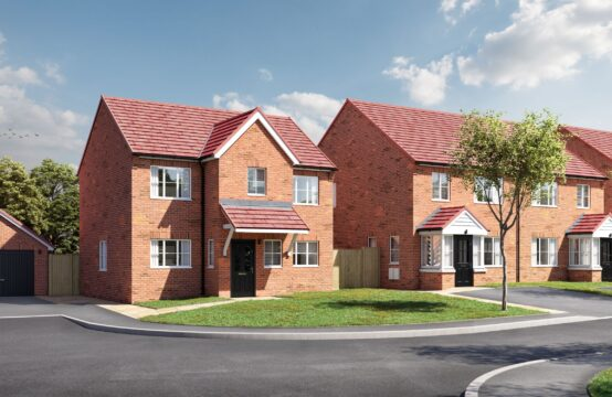 Plot 2, Rugby Park, Warsop Vale.  Semi Detached House with Garage. FREE flooring throughout with all Off Plan reservations!